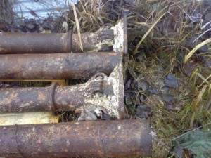 colonne antiche coniche in ghisa1
