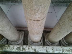 colonne in marmo di verona epoca ottocento 2