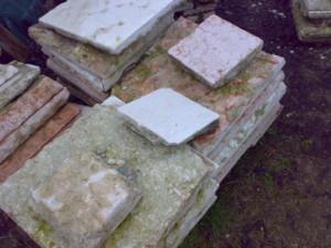 mattonella da pavimento antica in marmo 09