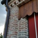 Portico realizzato con i nostri mattoni antichi da recupero materiali 19