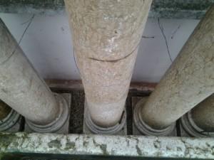 colonne in marmo bianco di verona 2