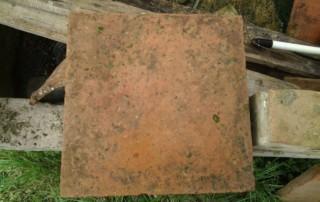 pavimento in cotto quadrato