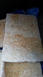 pavimento in marmo materiali di recupero