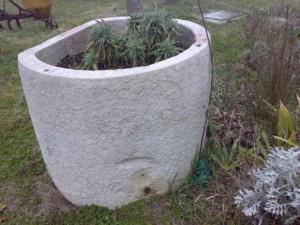 vasche in marmo antico da recupero materiali 02