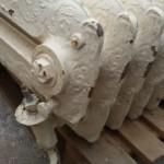 termosifoni in ghisa antichi liberty materiali di recupero 1