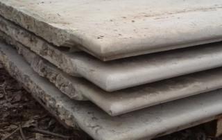 Gradini o pianerottoli o scalini in marmo bianco di verona 5