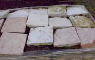 mattonella da pavimento antica in marmo 08