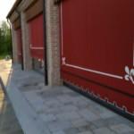 Portico realizzato con i nostri mattoni antichi da recupero materiali 21