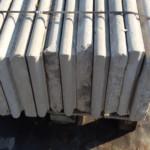 Gradini o pianerottoli o scalini in marmo bianco di verona 2