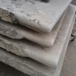 Gradini o pianerottoli o scalini in marmo bianco di verona 4
