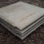 Gradini o pianerottoli o scalini in marmo bianco di verona 6